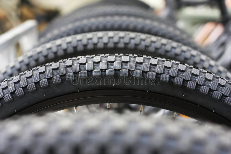 Bicycle's wheels royalty free stock images