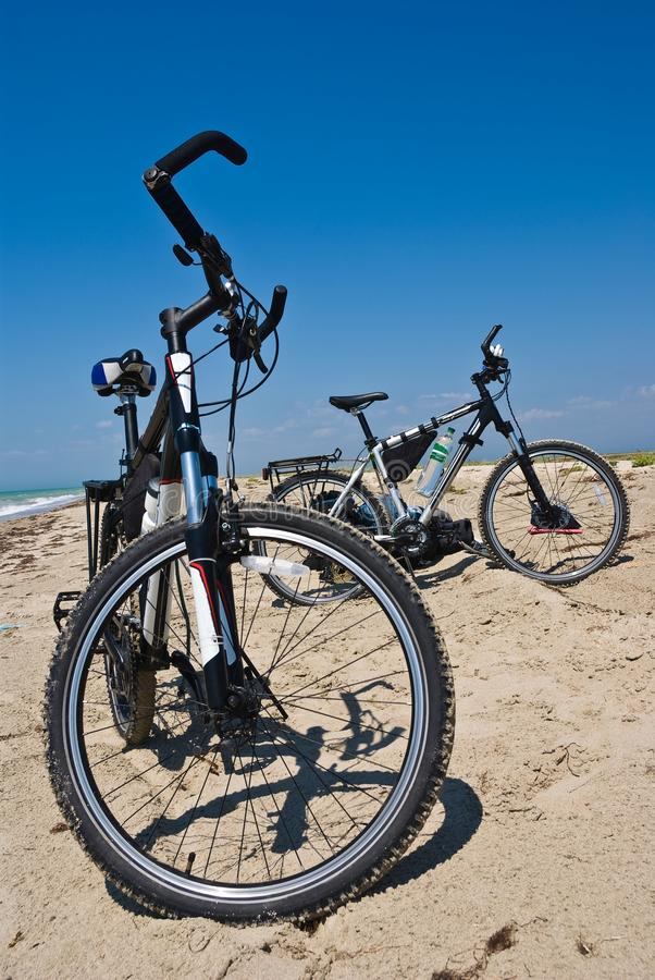 Download Bicycle on a sand stock image. Image of serene, ride - 20434511