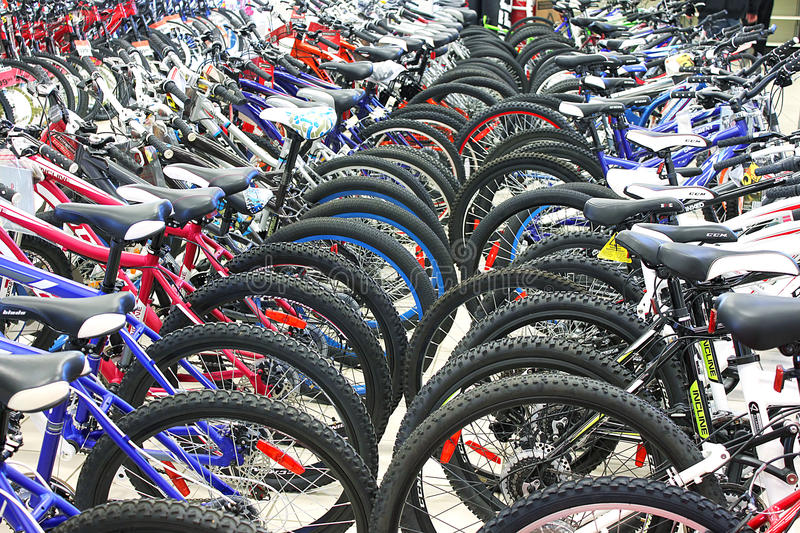 Download Bicycle shop editorial image. Image of cycle, retail - 57925605