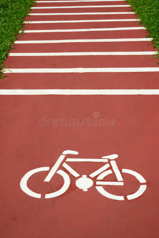 Download Bicycle Sign stock image. Image of asphalt, bicycle, leisure - 28353653