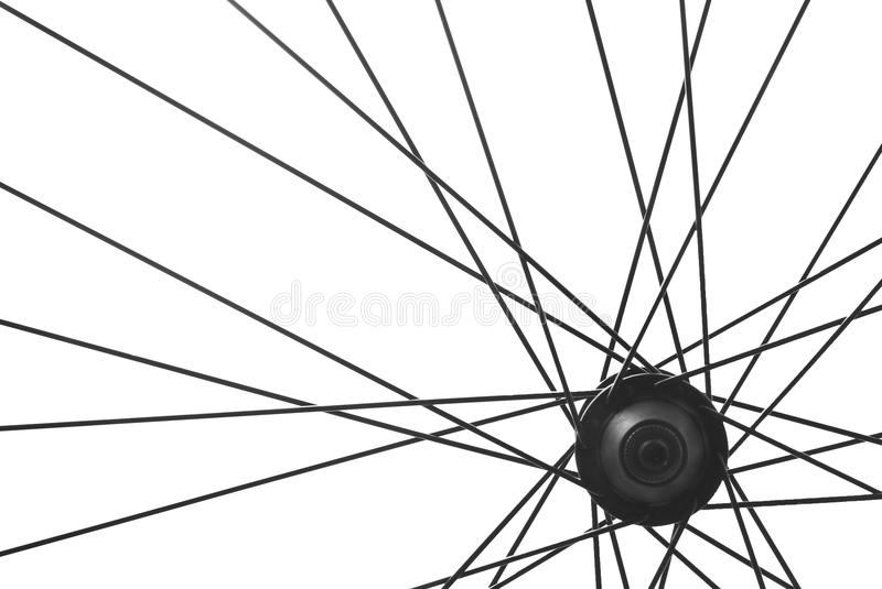 Download Bicycle spoke detail stock image. Image of isolated, wheel - 27507179
