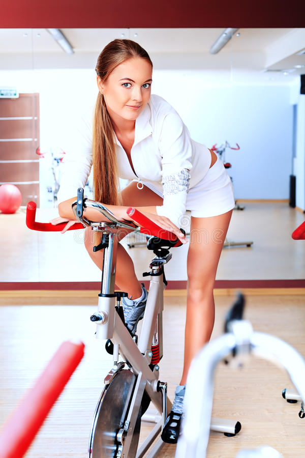 Bicycle sport stock images