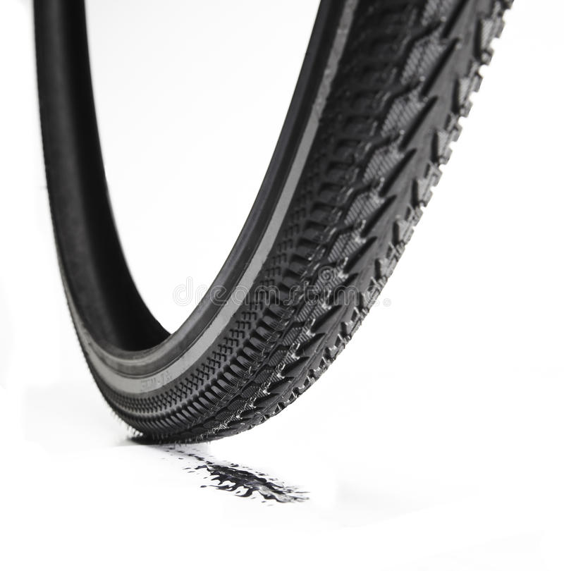 Bicycle tire stock image