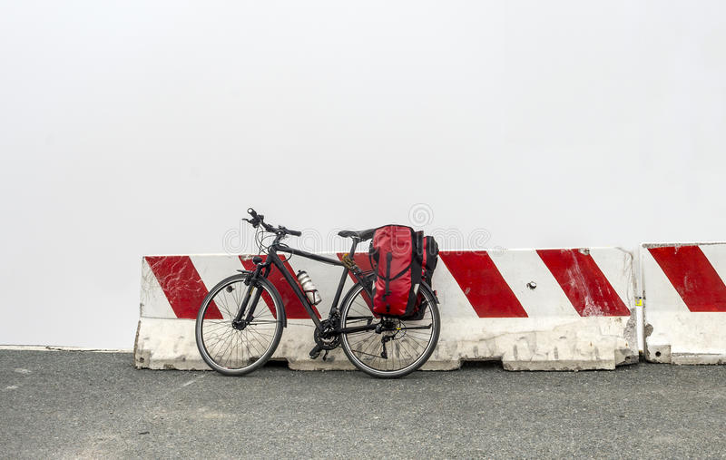 Download Bicycle On The Top Of Colle Dell'Agnello (Alps) Stock Image - Image: 33928097