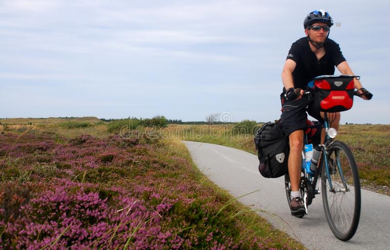 Download Bicycle Touring In The Countryside Stock Photo - Image: 16170218
