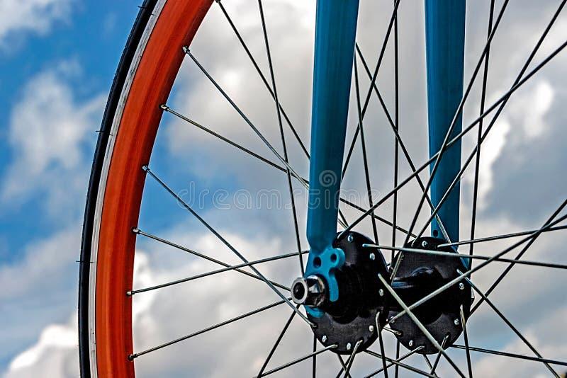 Download Bicycle wheel. Detail 19 stock image. Image of aluminum - 39514057