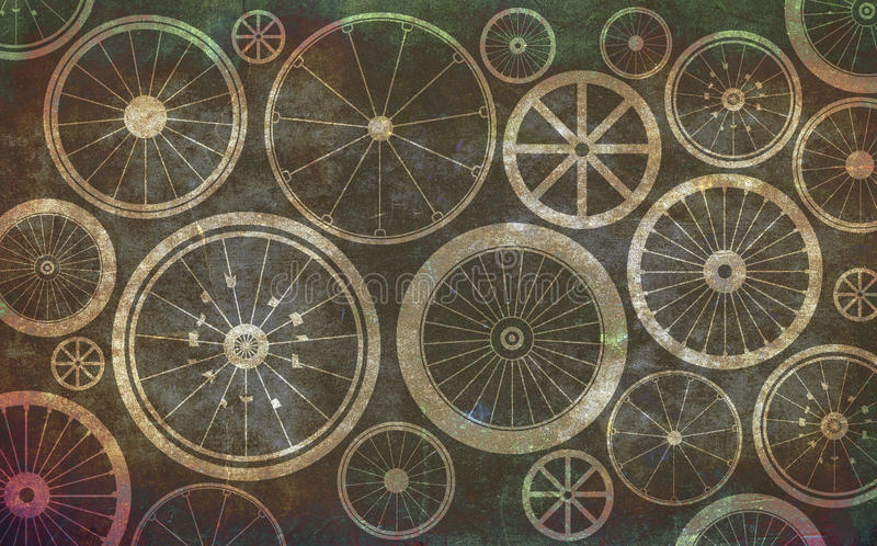 Bicycle Wheels Stock Images