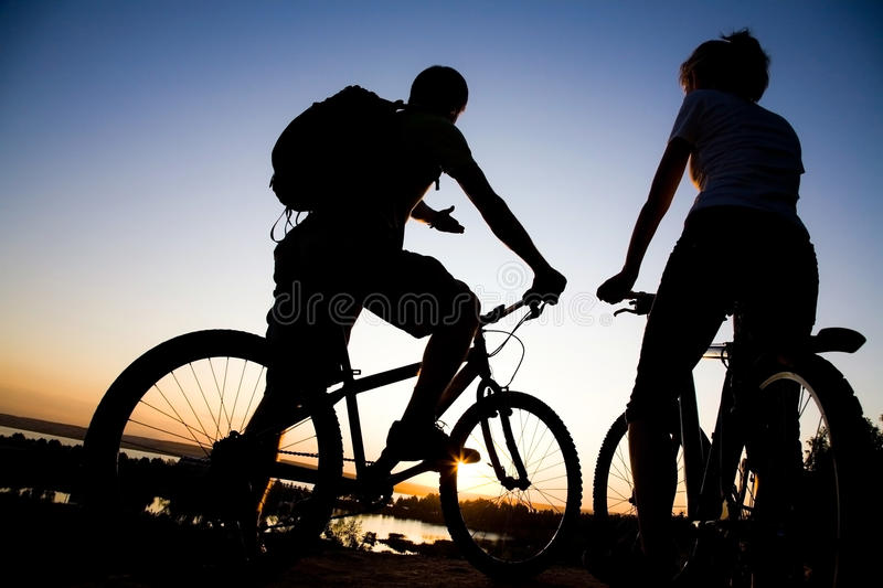 Bicycler fotografia de stock royalty free