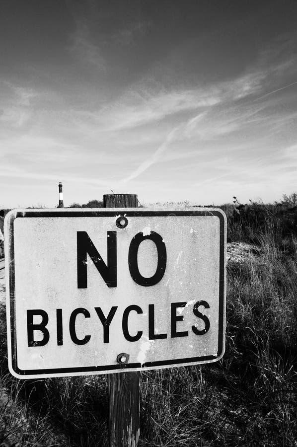bicycles нет стоковая фотография rf
