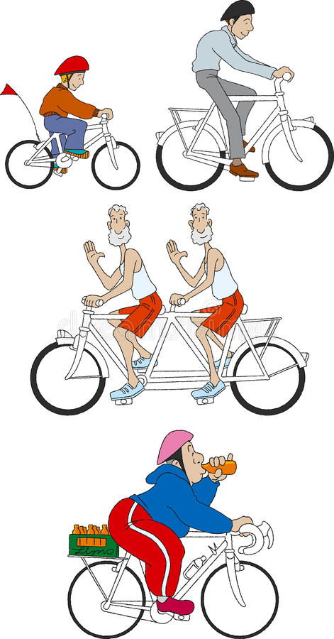 Download Bicycles 4 stock illustration. Illustration of cycling - 12272184