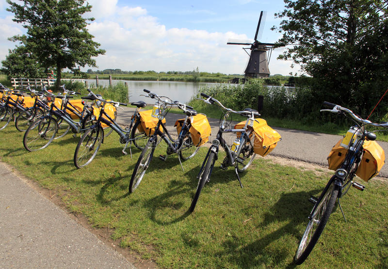 Download Bicycles in Holland editorial photography. Image of holiday - 25560422
