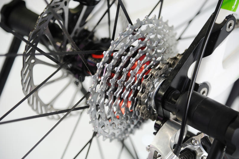 Download Bicycles Rear Drive System Royalty Free Stock Photo - Image: 22076815