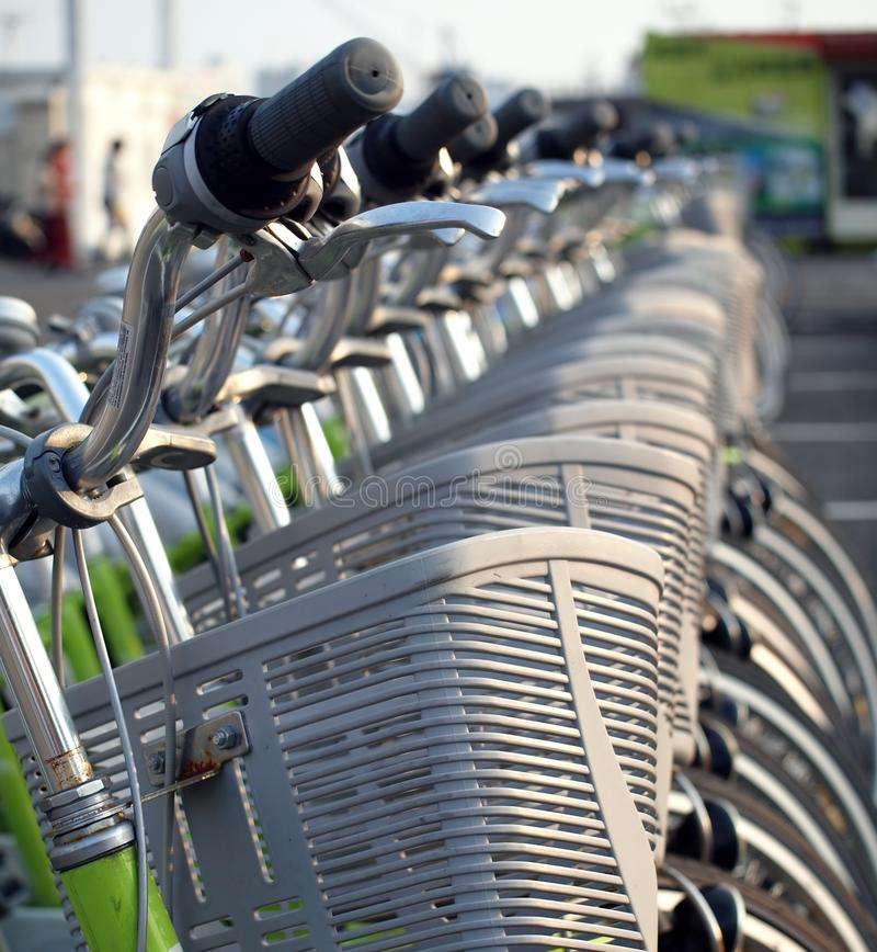 Download Bicycles for Rent stock photo. Image of tires, bike, lights - 11822508