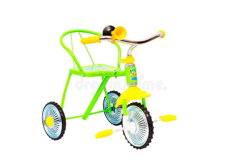 Bicyclette à trois roues pour des enfants photos libres de droits