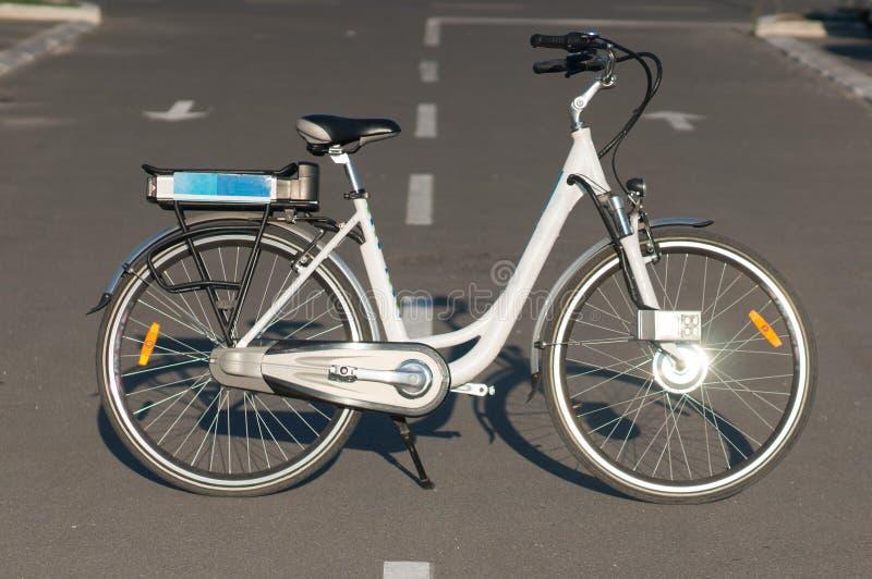 Bicyclette électrique image libre de droits