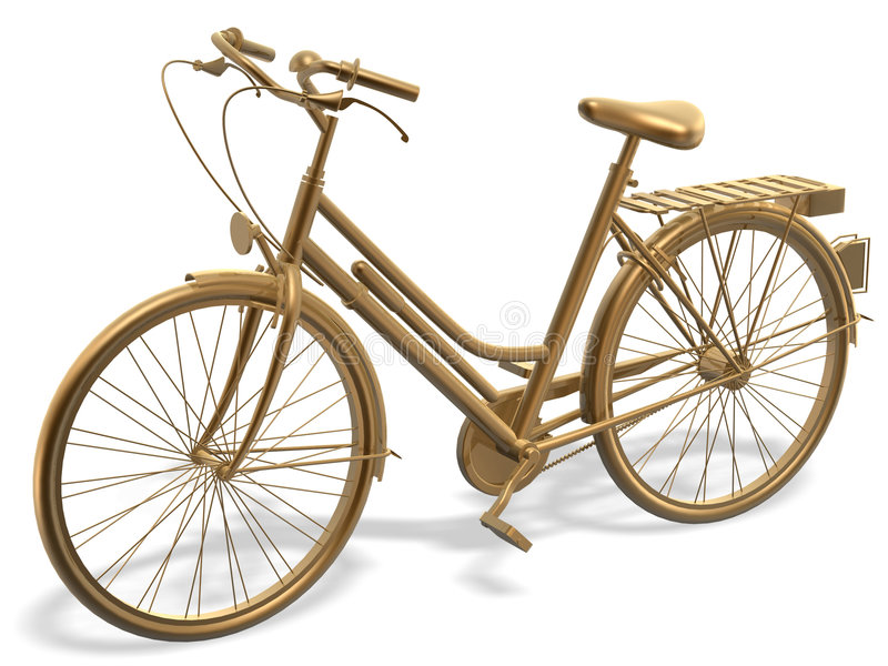 Bicyclette illustration stock