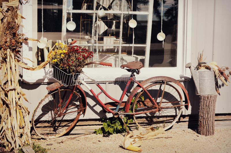 Bicyclette antique photos stock