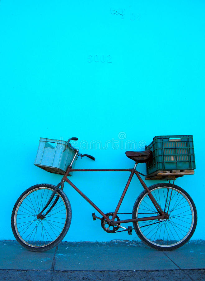 Bicyclette au Cuba photos stock