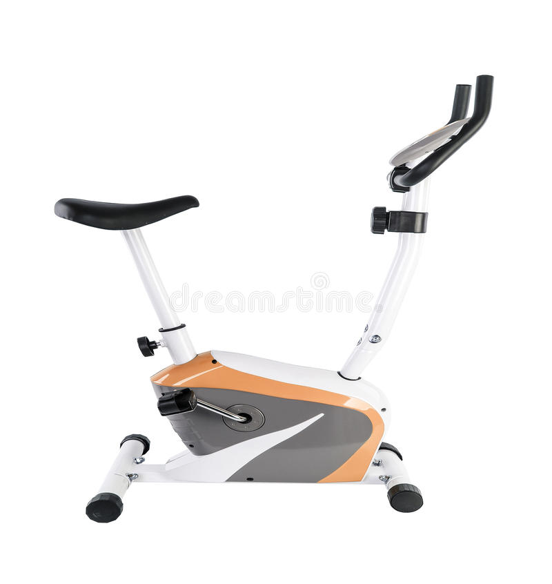 Bicyclette d'exercice photographie stock