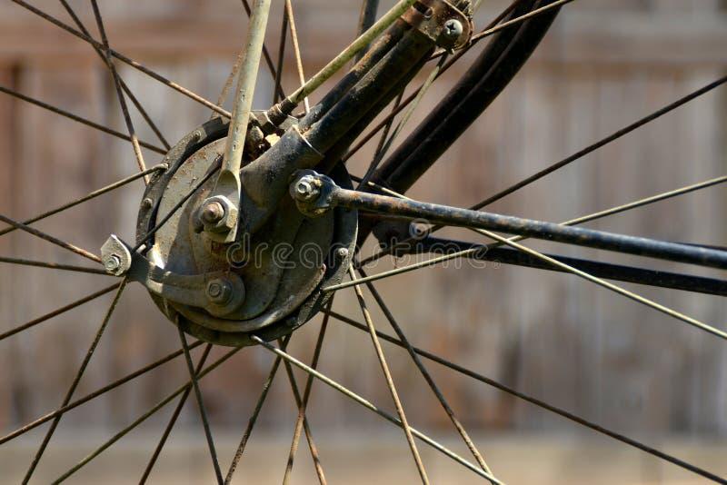 Bicyclette de roue images libres de droits