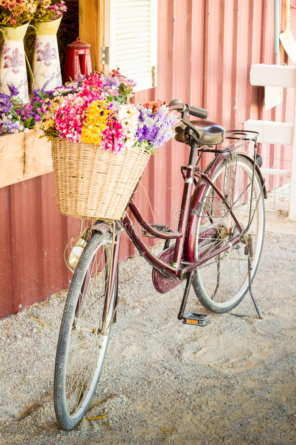 Bicyclette de vintage images libres de droits
