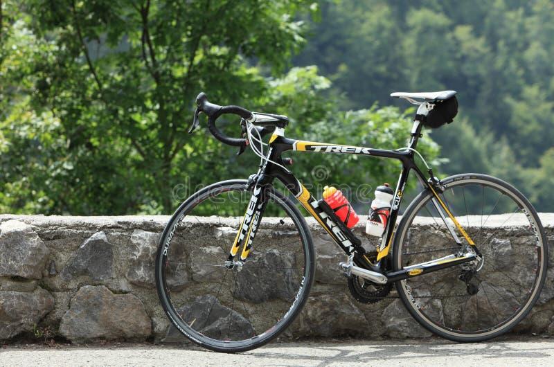 Bicyclette de voyage images stock