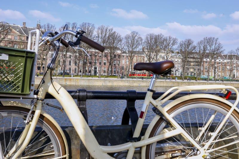 Bicyclette en Hollande image libre de droits