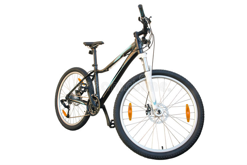 Bicyclette femelle photographie stock