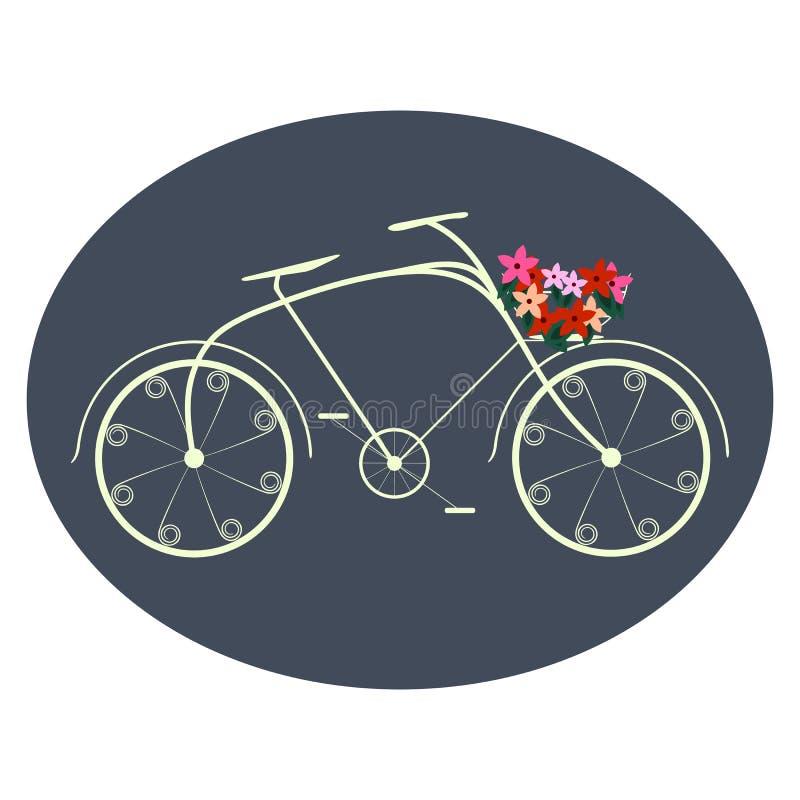 Bicyclette pour des dames photos libres de droits