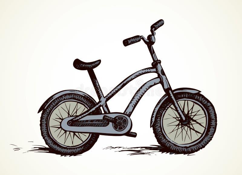 Bicyclette Retrait de vecteur illustration libre de droits