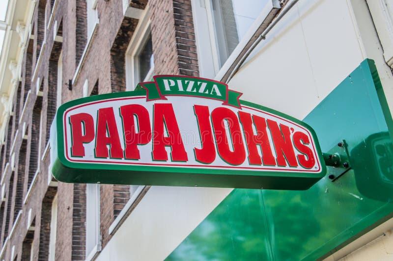 Bicyclettes du ` s de Papa John chez Diemen les Pays-Bas images stock