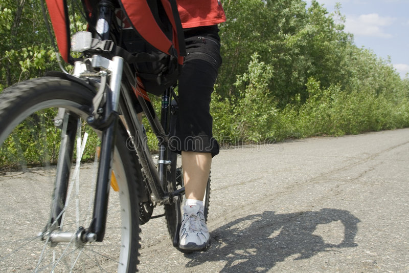 Bicycling_0021 fotografia de stock royalty free