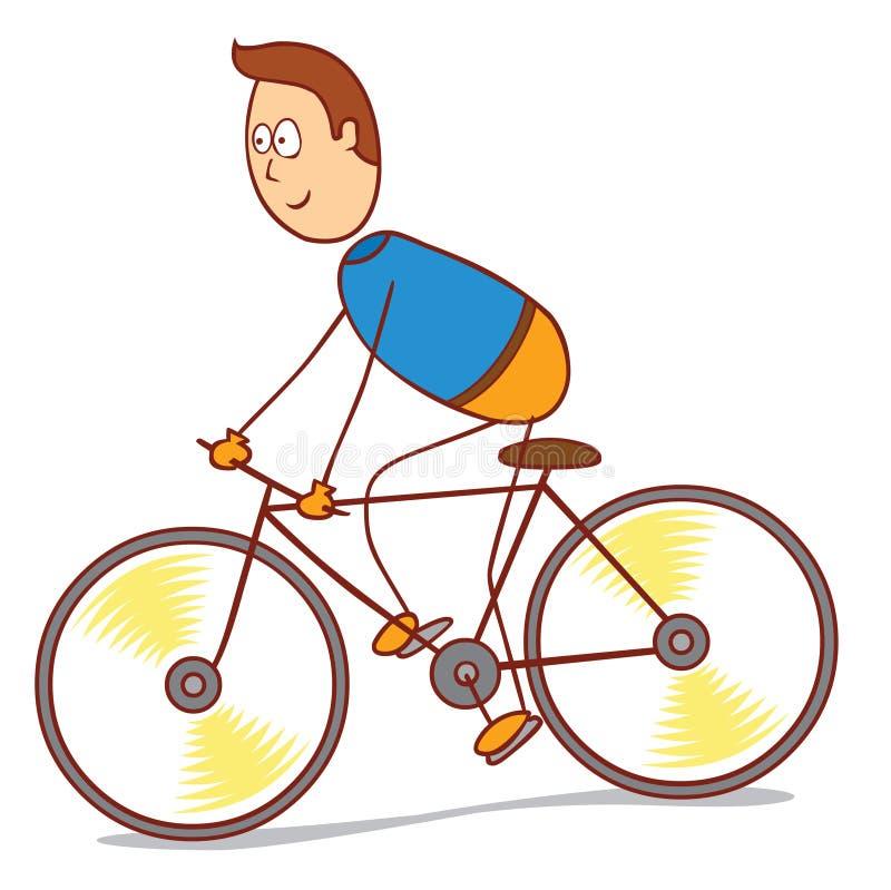 bicycling libre illustration