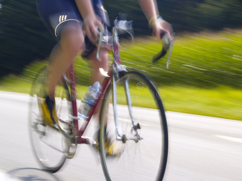 Download Bicycling stock photo. Image of bike, street, blur, motion - 7609364