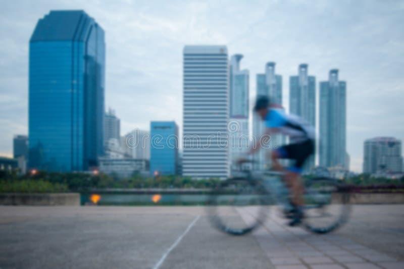Bicycling borrado fotos de stock royalty free