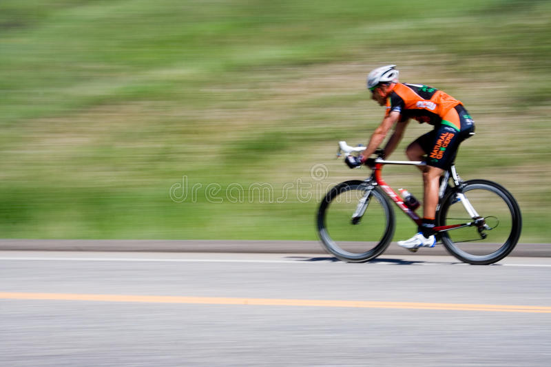 Bicyclist fotografia de stock royalty free
