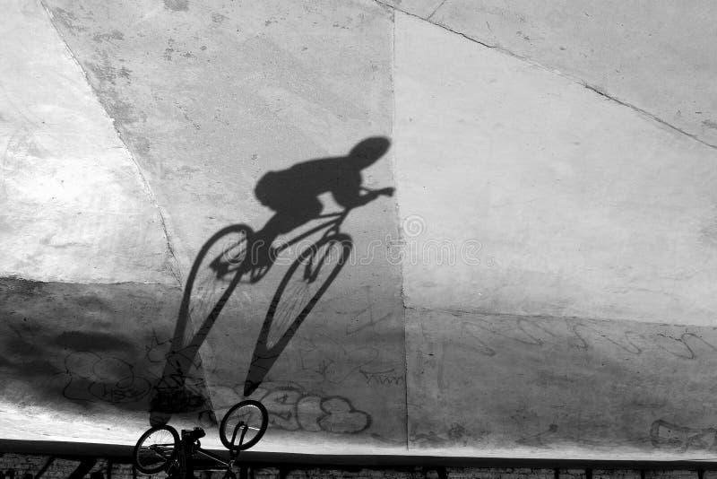 Bicyclist foto de archivo libre de regalías