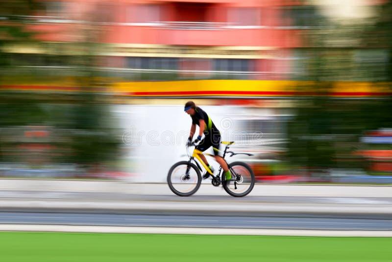 Bicyclist imagen de archivo