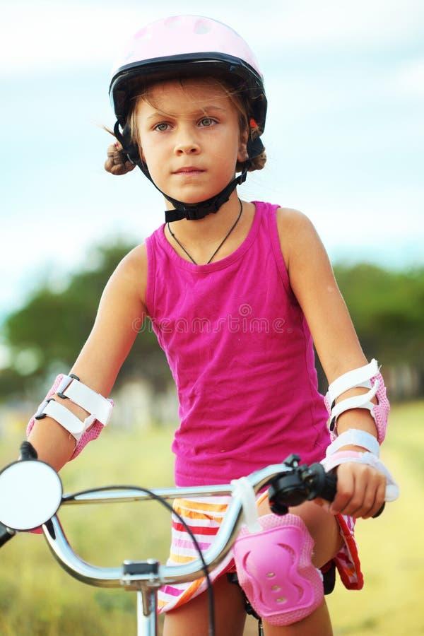 Bicyclist obraz stock