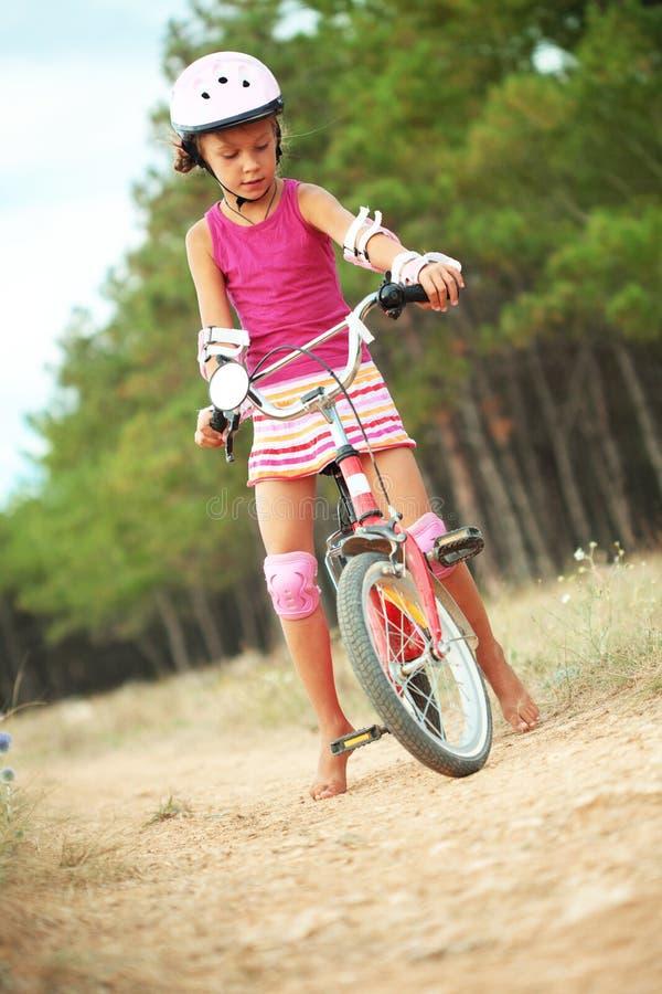 Bicyclist zdjęcie stock