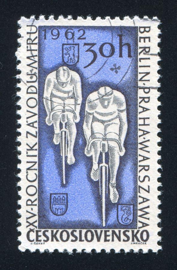 bicyclists foto de stock