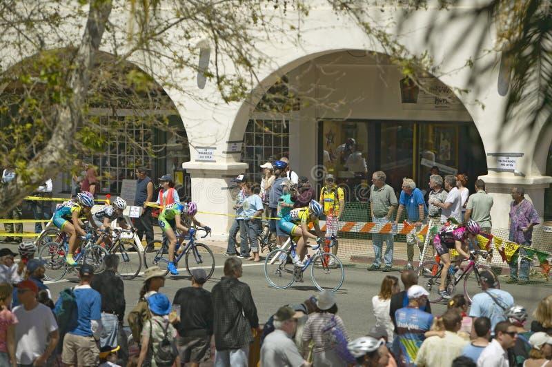 Bicyclists amadores dos homens imagem de stock royalty free