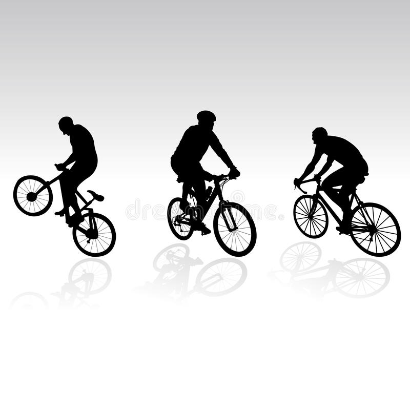 Download Bicyclists For Your Design Stock Photos - Image: 9904093