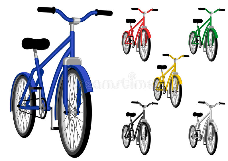bicykl royalty ilustracja