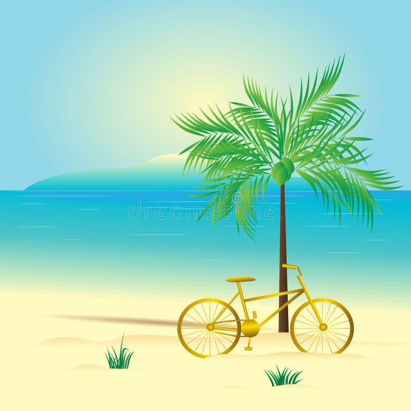 Bicykl. ilustracja wektor