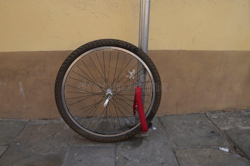 bicykl kraść obraz stock