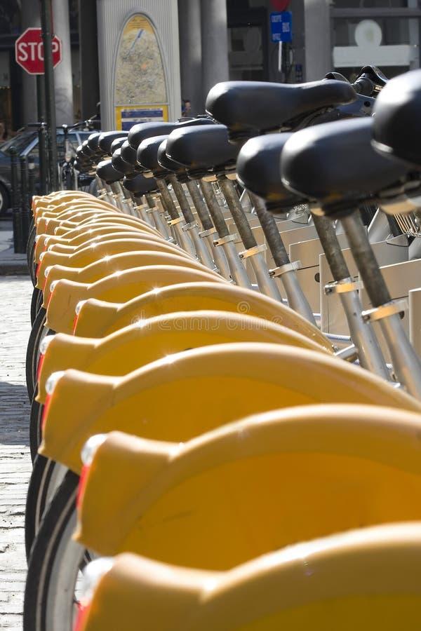 bicykle dzierżawią obraz royalty free