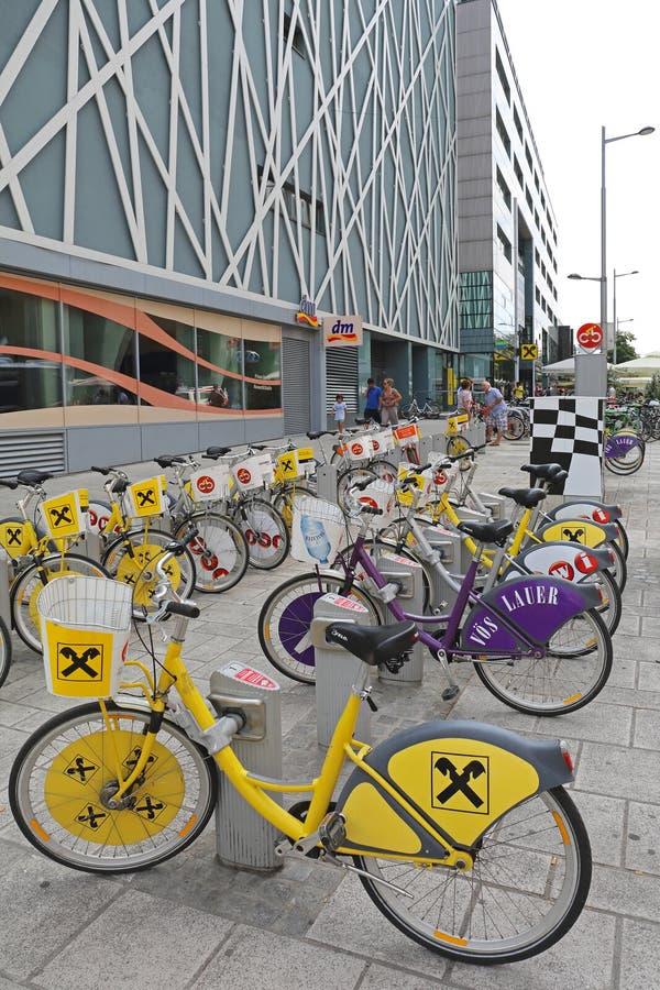 Bicykle Wiedeń obrazy royalty free