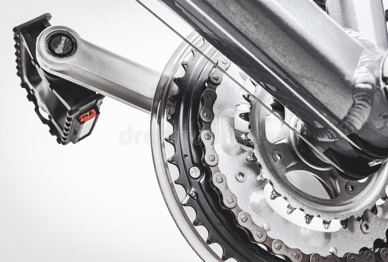 Download Bicykli/lów Następy I Przekładnia System Obraz Stock - Obraz złożonej z kruszcowy, część: 57662631