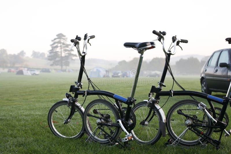 bicykli/lów target2368_1_ obrazy stock